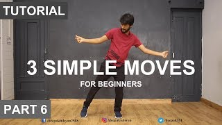 How to Dance | Basic Dance Steps for beginners | 3 Simple Moves | Deepak Tulsyan
