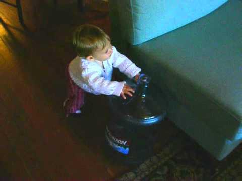 Lucy Bottlewalks, April 2006