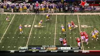 Tajh Boyd vs LSU (2013 Bowl)