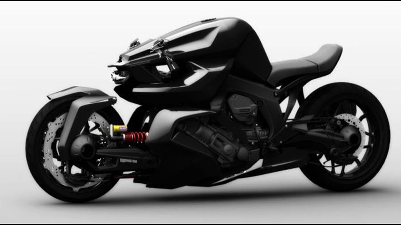 The Ostoure Super Naked Motorcycle Design Concept