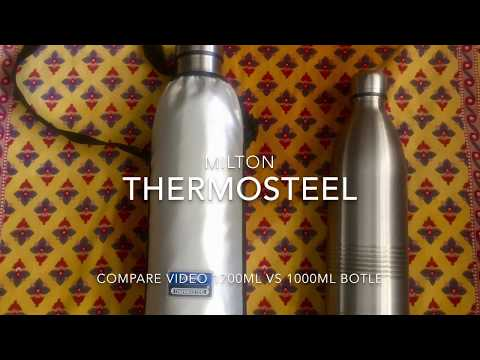 Review & Compare - Milton Thermosteel Bottle 1700ml vs 1000ml