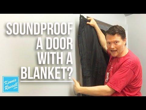 Soundproof Door Test | Using The Producer's Choice Door Blanket