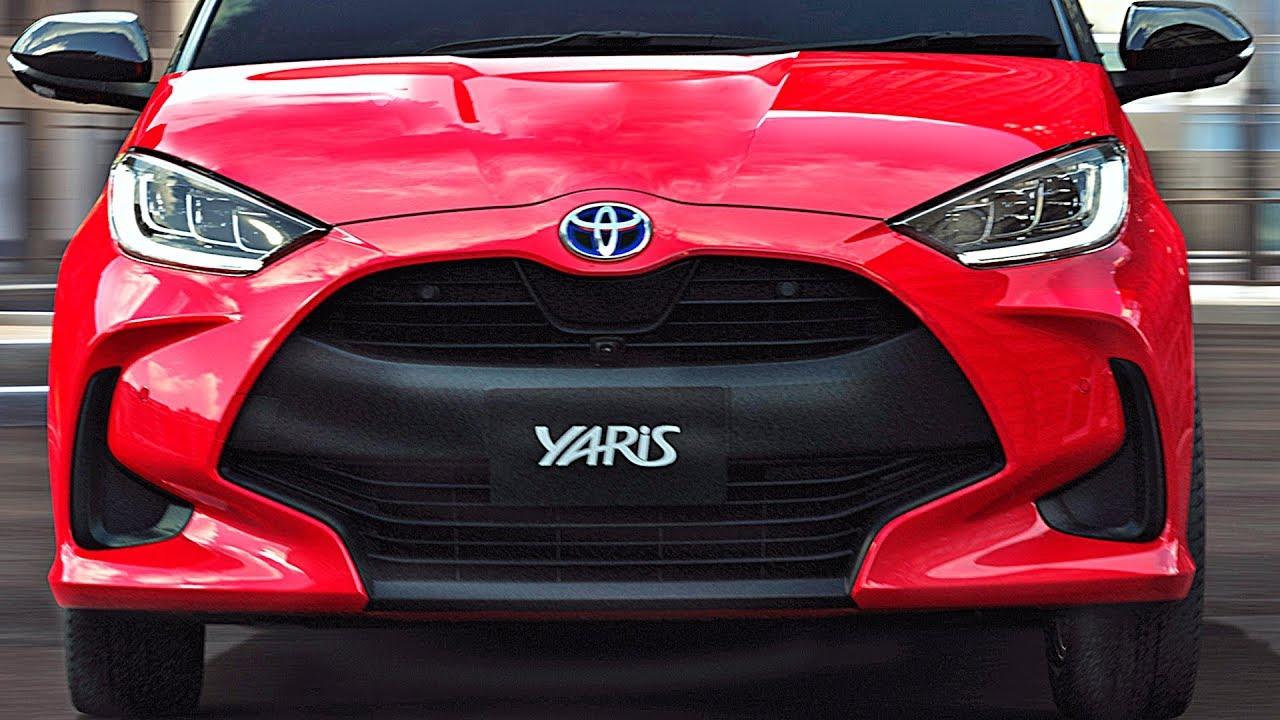2021 Toyota Yaris Shorter Wider Lower Youtube