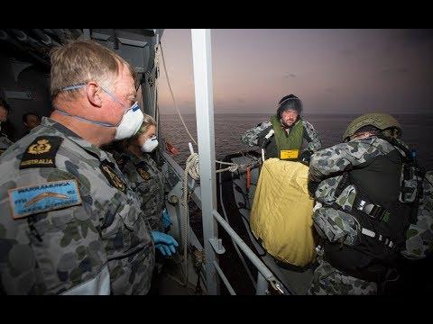 HMAS Warramunga continues operational success
