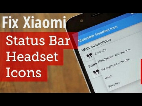 How To Fix Xiaomi Status Bar Stuck In Headphone Mode Youtube