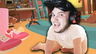 ДЕРЗКИЙ КАРАПУЗ! - СИМУЛЯТОР РЕБЕНКА ВР - Baby Hands VR - HTC Vive