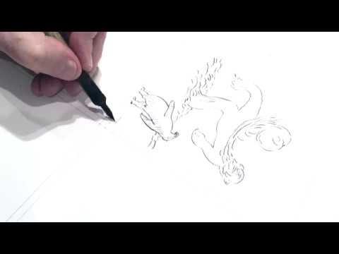 "Comment j'ai dessiné ""Guirlanda"", la leçon de dessin de Mattotti"