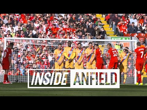 INSIDE ANFIELD: Liverpool v Crystal Palace | Coutinho's free-kick and more behind-the-scenes