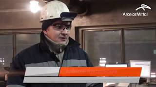 Рафаил Исмагилов оператор конвертерного цеха АрселорМиттал Темиртау
