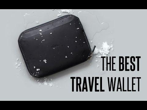 THE BEST TRAVEL WALLET !!! Bellroy Elements