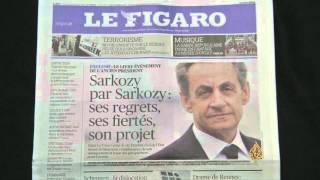 ساركوزي في كتابه يطالب بوقف المساعدات للمهاجرين