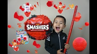 ZURU SMASHERS Surprise toys, SMASHERS PIÑATA, Smash ball surprise toys UNBOXING