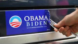 Obama Bumper Sticker Removal Kit - Available at BSRemoval.com - feat. Brad Stine thumbnail
