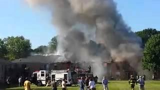 fire in cliffwood nj ken gardens complex 2