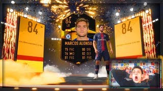COMPLETING MARCOS ALONSO EUROPA LEAGUE CARD!!!  FIFA 19