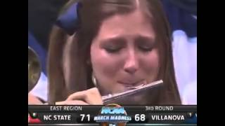Crying Piccolo player after NC state upset