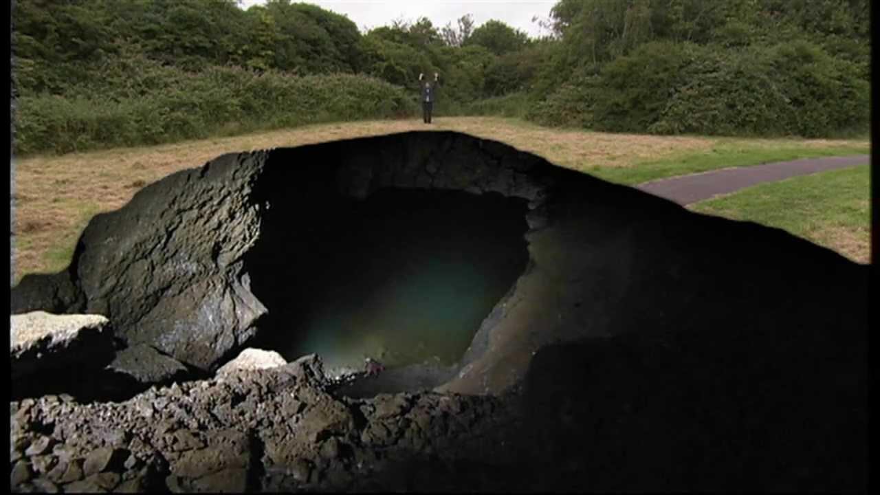 underground hole