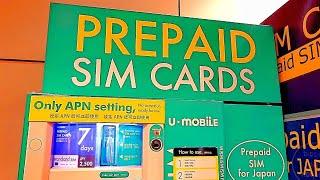Sim Card Distributore a Narita (Tokyo) - Vivi Giappone SP