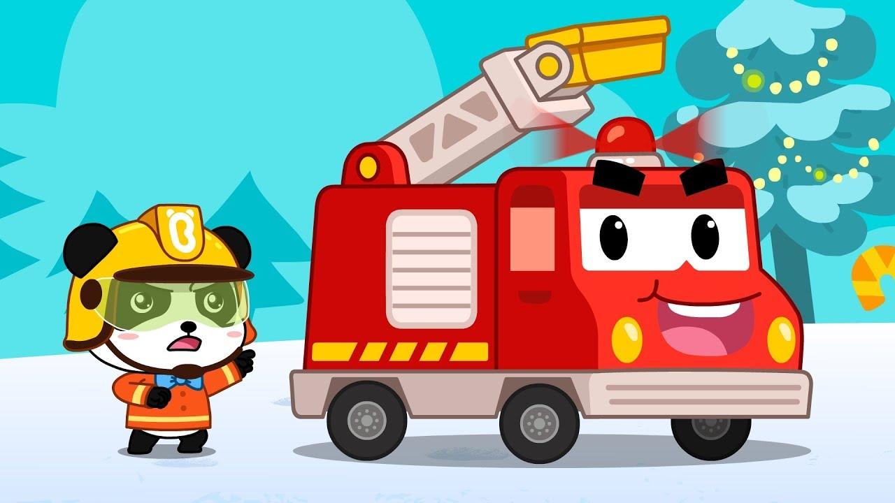 Xuất phát! | Xe cứu hỏa noel thi hành nhiệm vụ | Tuyển tập nhạc thiếu nhi giáng sinh | BabyBus