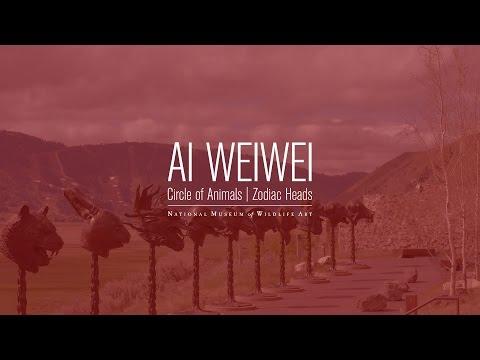 Ai Weiwei Zodiac Heads At The National Museum Of Wildlife Art