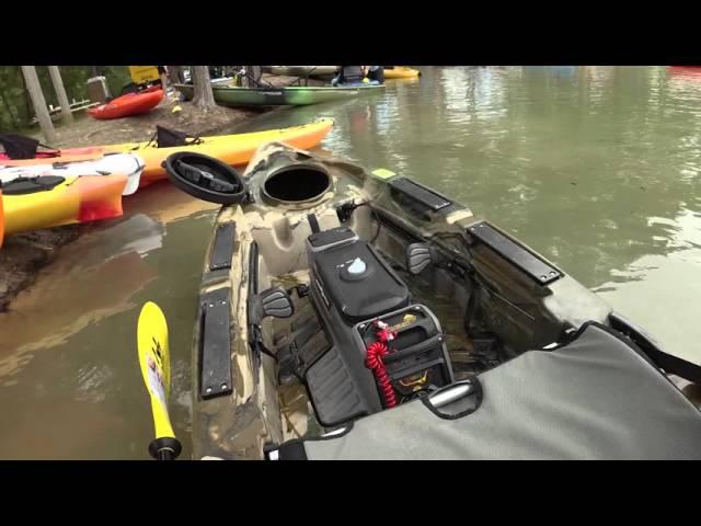 Two Minute Tackle: Old Town Predator Minn-Kota Motorized Kayak