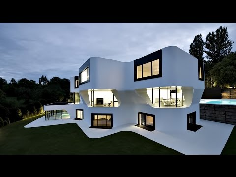 Futuristic Sophisticated Dupli Casa Modern Luxury Residence in Stuttgart, Germany
