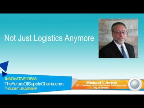 Not Just Logistics Anymore
