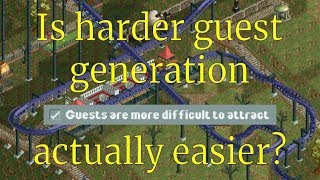 RCT2 - Harder guest generation explained