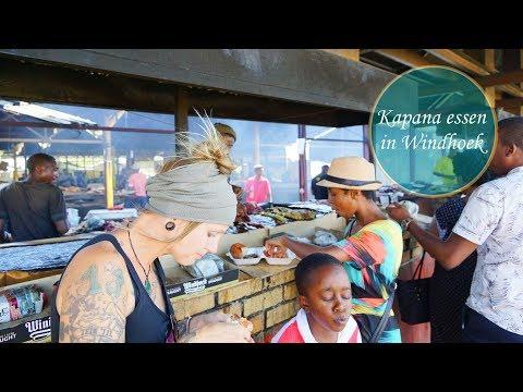 Authentisch Kapana & Fleisch essen in Windhoek, Namibia • Weltreise Vlog #012