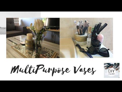 MultiPurpose Cement Vases  #DIYYolande  Durban YouTuber