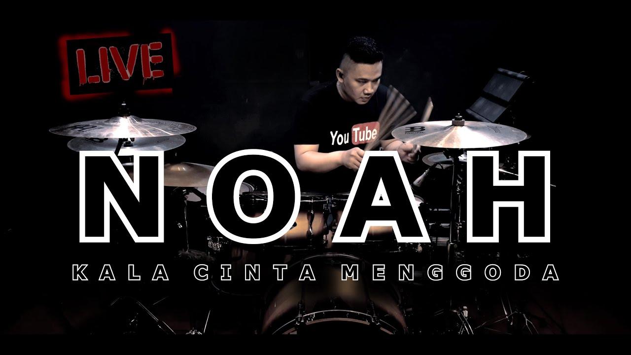 NOAH - Kala Cinta Menggoda (Drum Cover) By Vicky Shalov