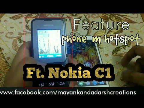 Feature phone m hotspot Ft. Nokia C1 [hindi] | by Mayank choudhary