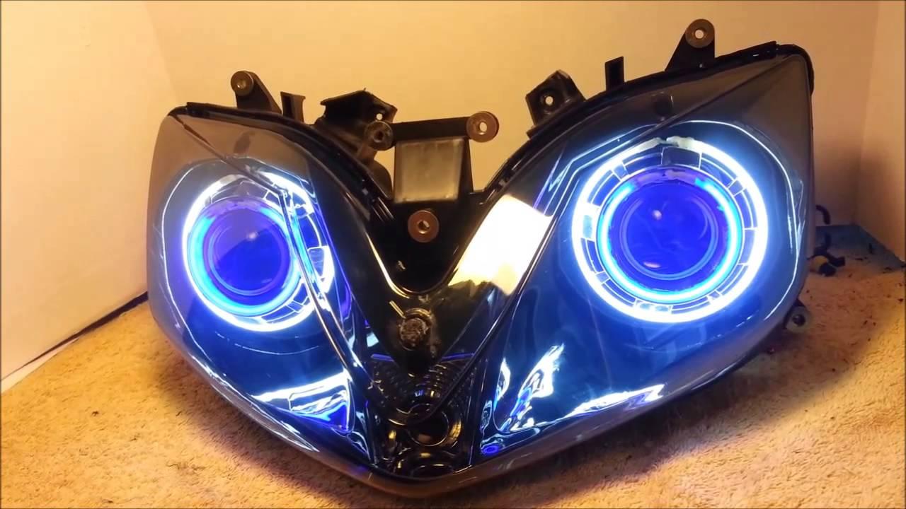 1 2001 2006 Honda Cbr600 F4i Hid Projector Headlights Bixenon Dual