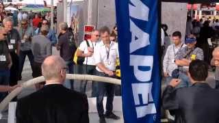 Mapei Ultratop PC Polishing Demo WOC 2015