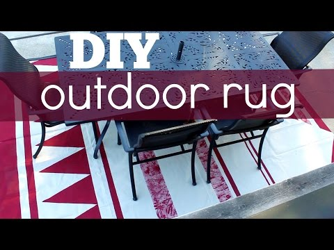 DIY Outdoor Rug
