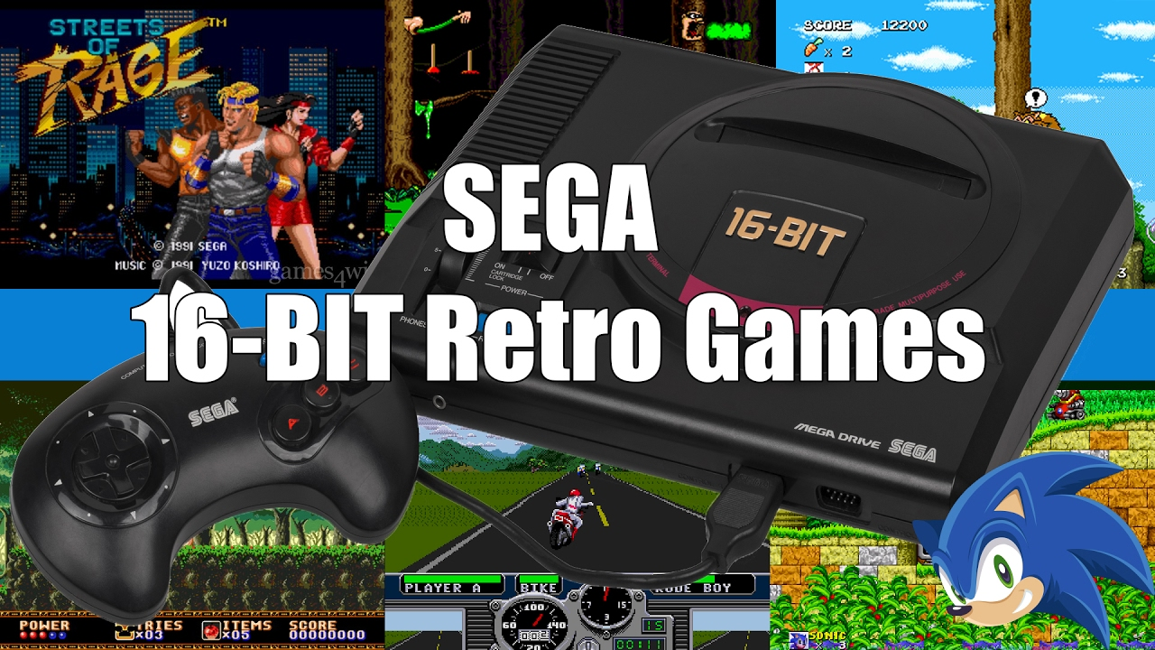 SEGA 16-Bit Retro Games - Live Play!