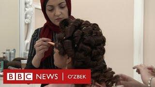 Дин ва дунё: Нью-Йоркда ҳижобли аёллар учун гўзаллик салони очилди - BBC Uzbek
