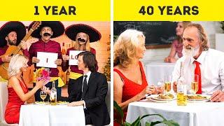 RELATIONSHIP: 1 YEAR VS 40 YEARS
