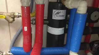 Kotłownia gazowa viessmann + Elterm+ Aquaphor. Wykonanie własne