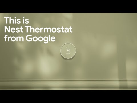 Introducing the new Nest Thermostat from Google