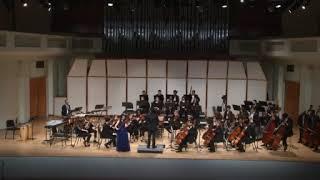 Mendelssohn Violin Concerto. Luis Aguilar, Elena Lim and the FIU Symphony
