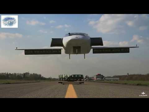 💡👍 Lilium Aviation Vertical Take-Off and Landing Jet