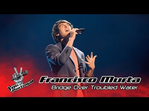 Francisco Murta - Bridge Over Troubled Water (Simon and Garfunkel) | Gala | The Voice Portugal