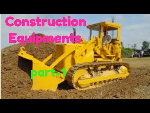 Construction Equipments Easy Notes Part 1 /cgvyapam Sub Engineer / Ssc Je/ Cgpsc Ses Civil