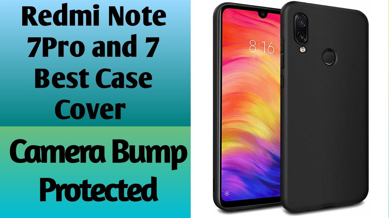 7d3087a95 Redmi Note 7   7Pro Best Cover Camera Bump Protection - YouTube