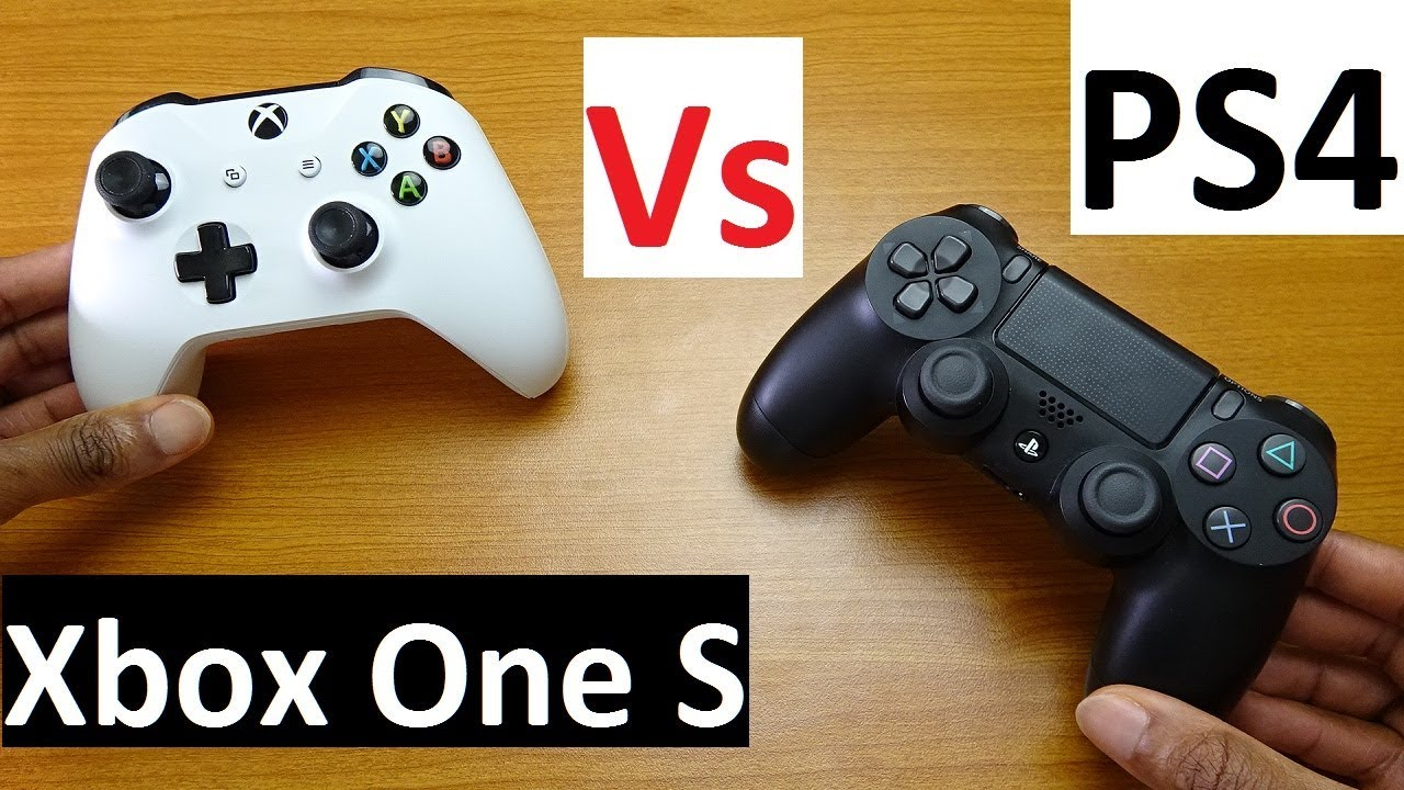 Xbox One X Vs PS4 Pro Controller