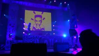 Die Antwoord @ Lotto Arena Antwerp, 24-01-2015: I Fink You Freaky
