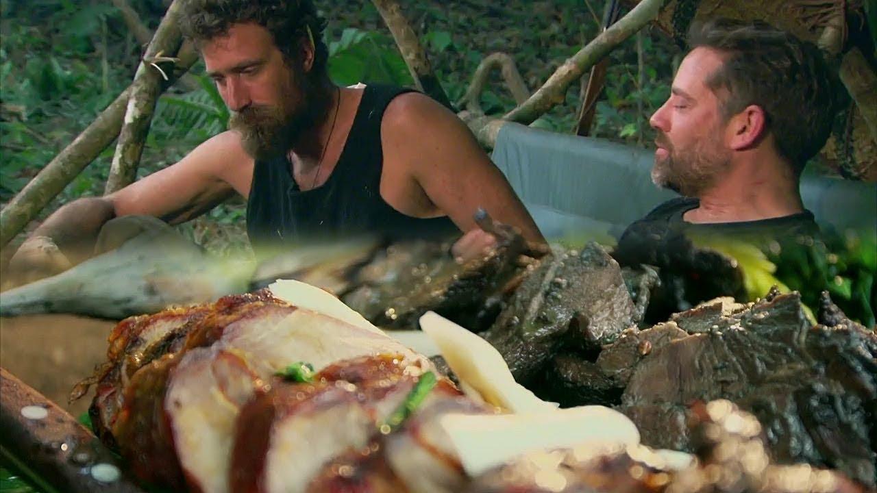 2 นักผจญภัย ล่าหมูป่าเพื่อทำเมนูระดับภัตตาคาร   ล่าเพื่อกินอย่างราชา