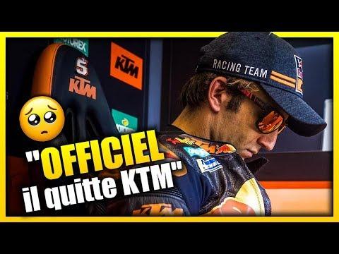 OFFICIEL - JOHANN ZARCO ET KTM, C'EST FINI FIN 2019!..