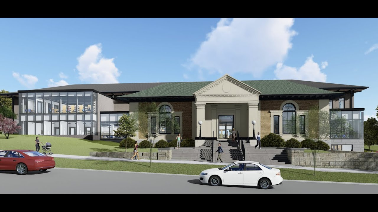 Library Expansion Groundbreaking